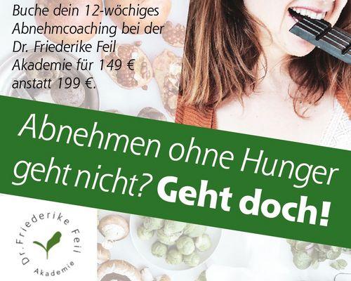 12-wöchiges Abnehmprogramm bei der Dr. Friederike Feil Akademie