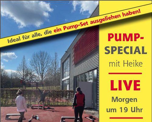 Sportpark Online Live: Pump Special mit Heike